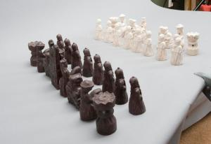 Seventh Seal Chess Pieces